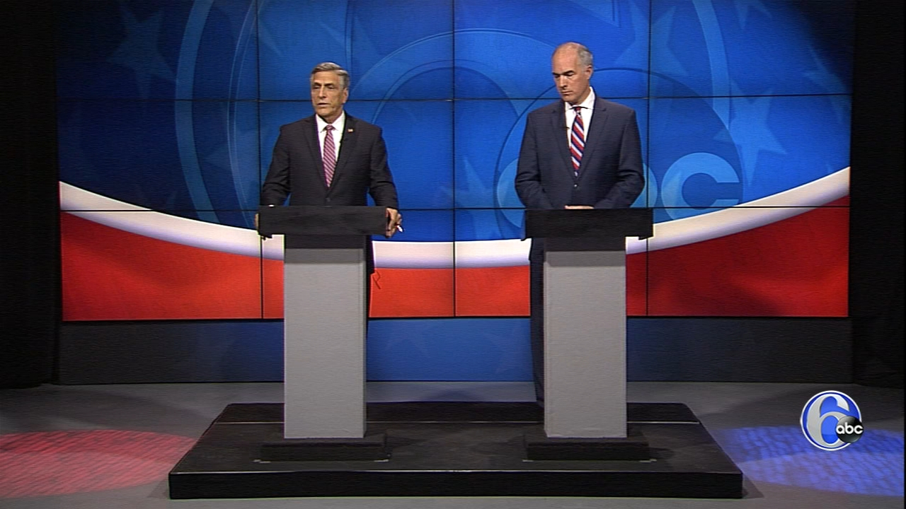 Pennsylvania Senate Debate part 1 on October 21, 2018.