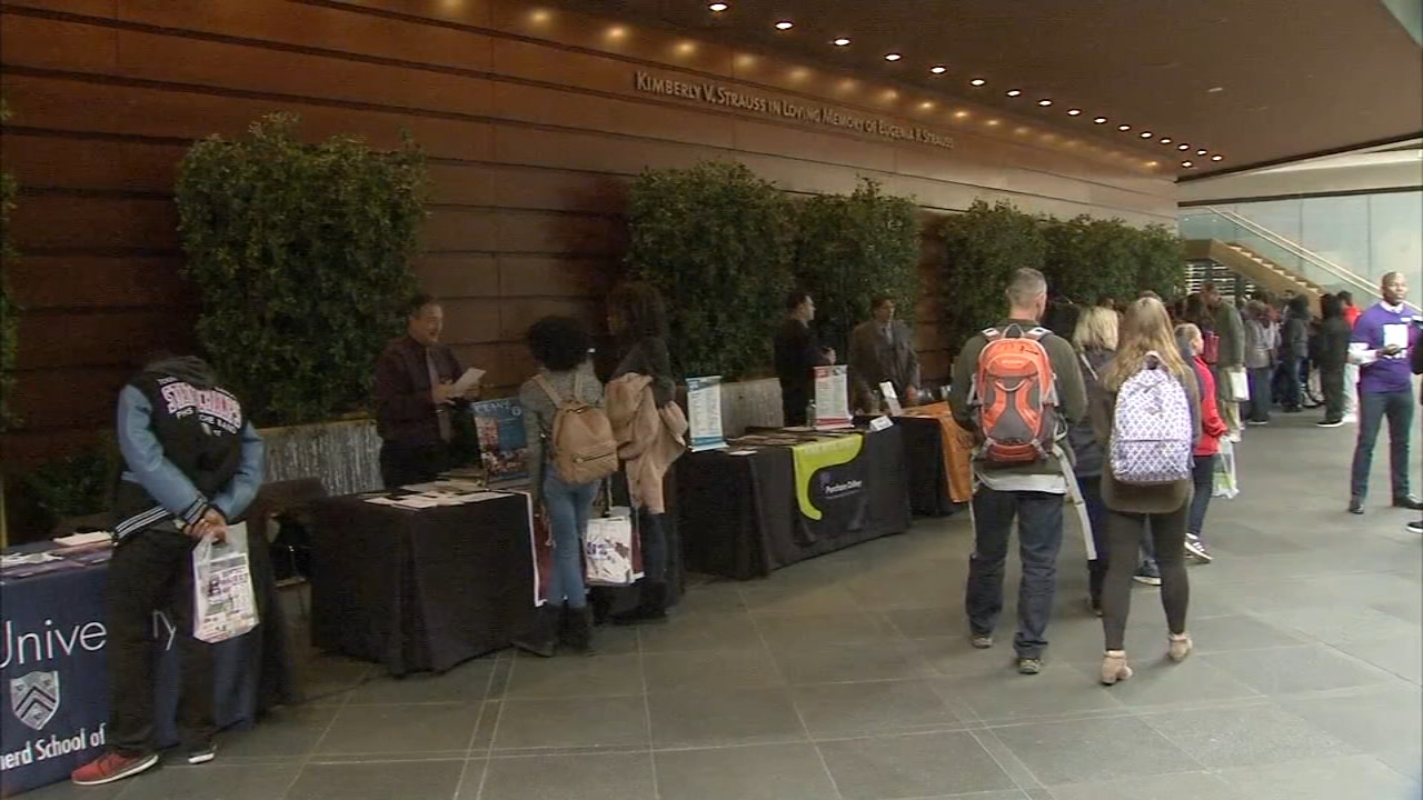 The Kimmel Center hosted student musicians and representatives aas reported during Action News at 5 on November 12, 2018.
