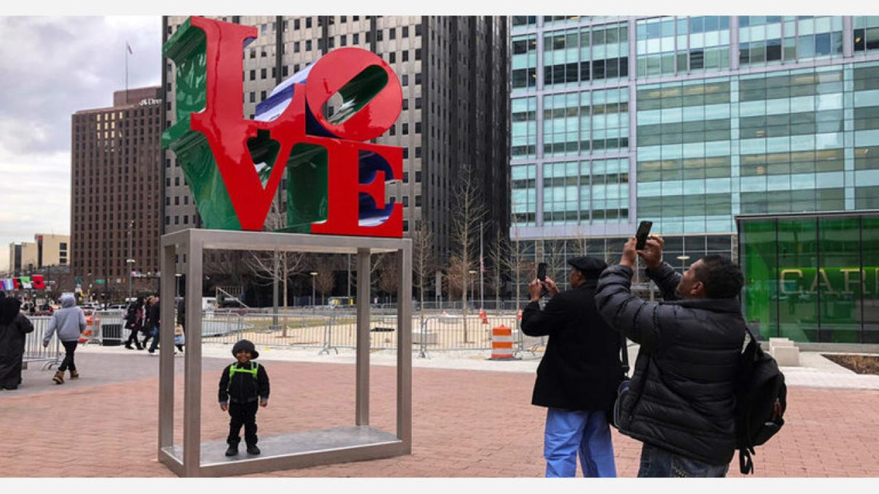 Creator of Philly's iconic Love Statue has died