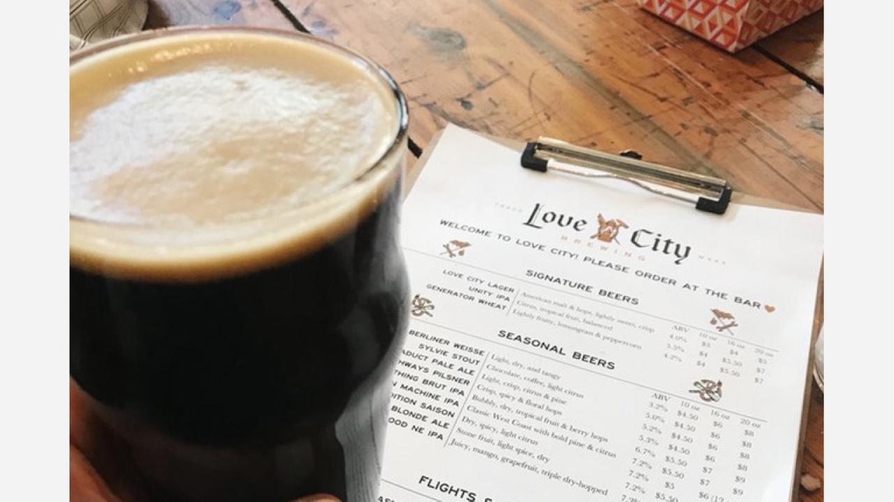 Love City Brewing Company. | Photo: Sara Marissa G./Yelp