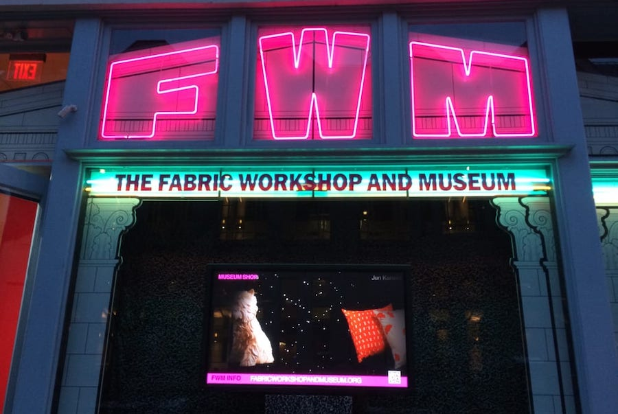 The Fabric Workshop and Museum. | Photo: Erin C./Yelp