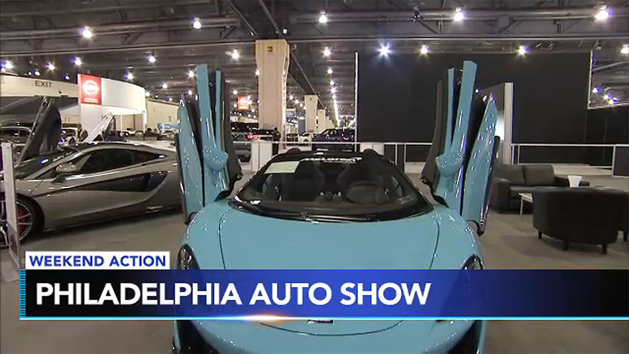 The Philly Auto Show rolls into town and brave swimmers dive into the Polar Bear Plunge. Plus, more activities to fill your weekend.