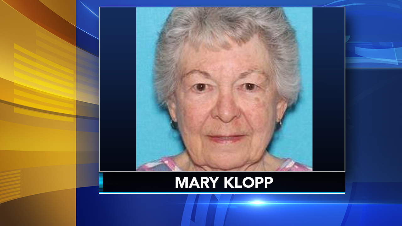 Pennsylvania State Police are seeking the publics assistance in their search for 85-year-old Mary Klopp.