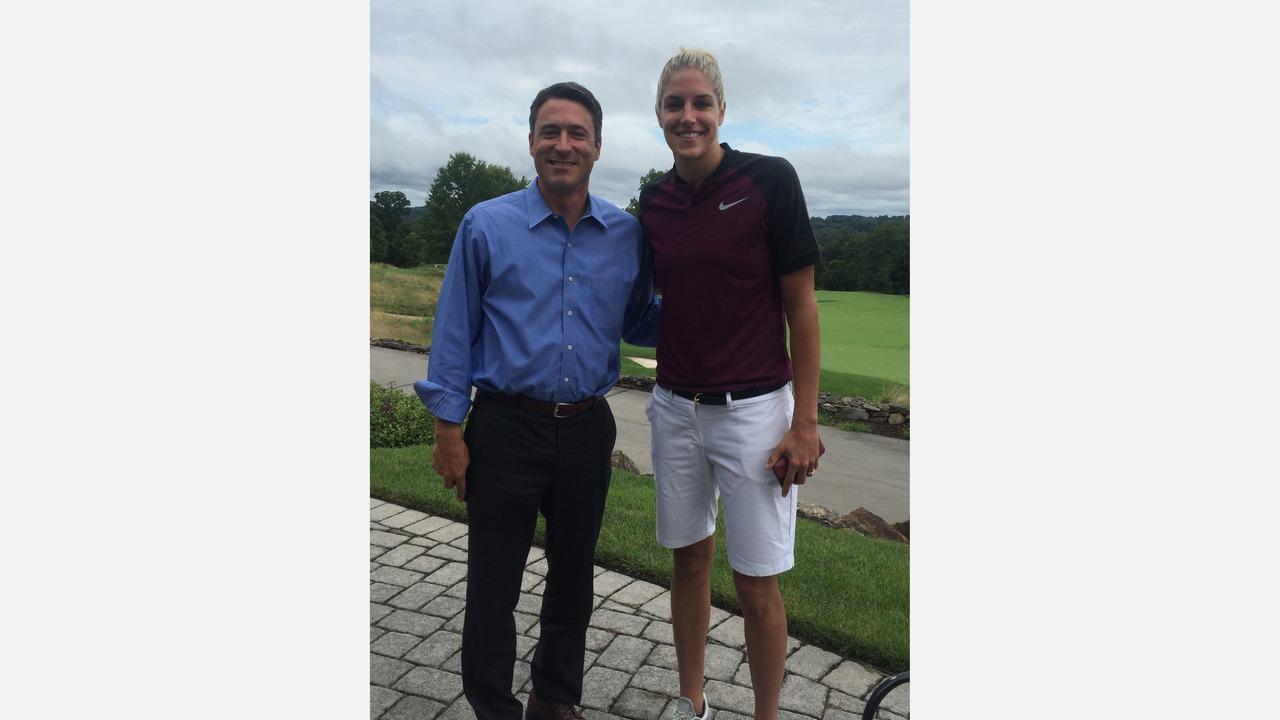 Matt O'Donnell with WNBA Superstar Elena Delle Donne on The Travel Mug Podcast