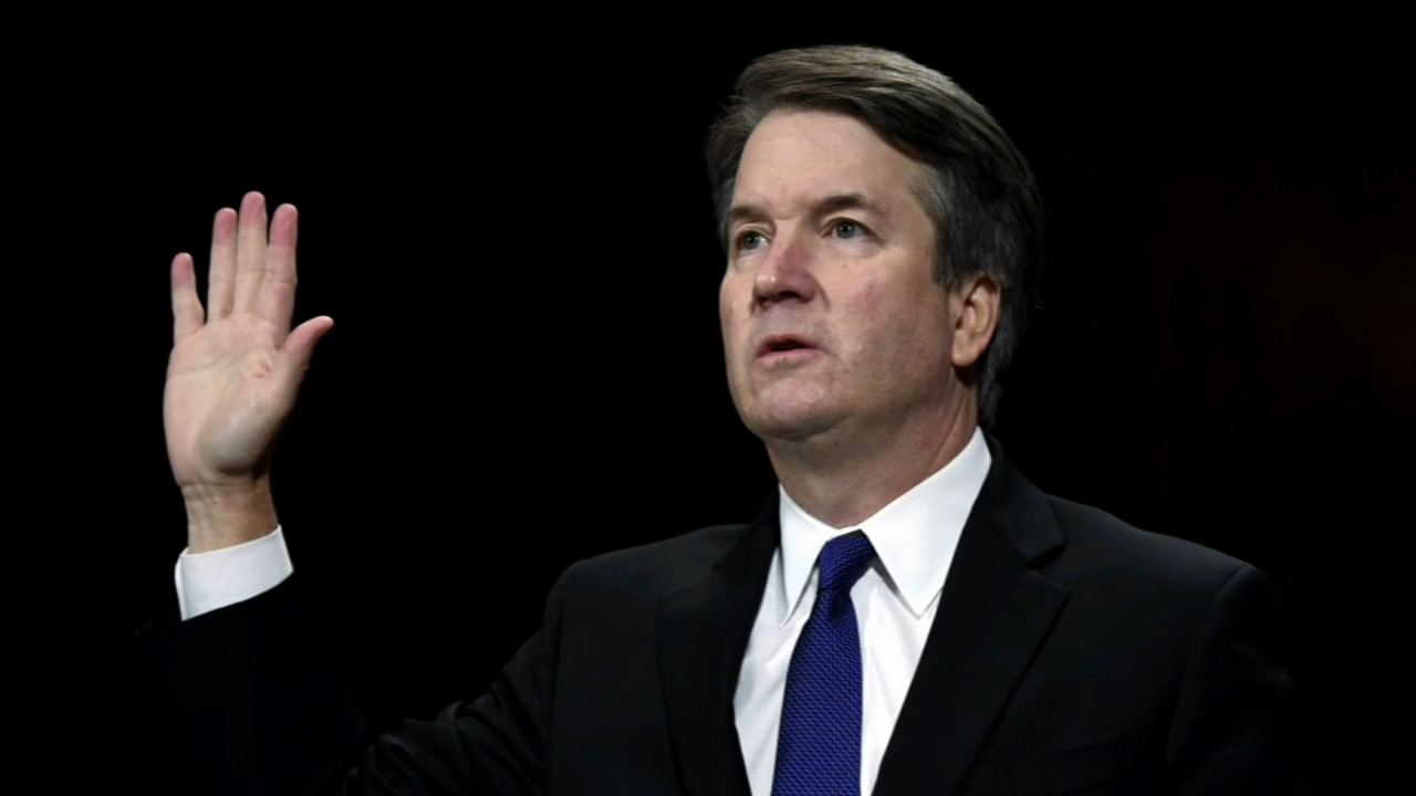 Kavanaugh sworn to high court after rancorous confirmation. Lynda Lopez reports during Action News at 11:30 p.m. on October 6, 2018.