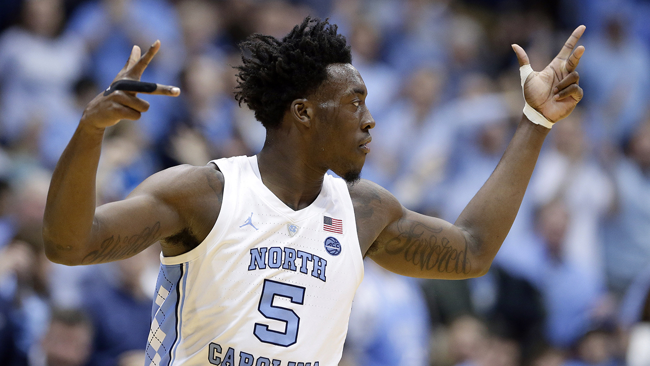 North Carolinas Nassir Little had 23 points as the No. 11 Tar Heels crushed No. 10 Virginia Tech on Monday night.