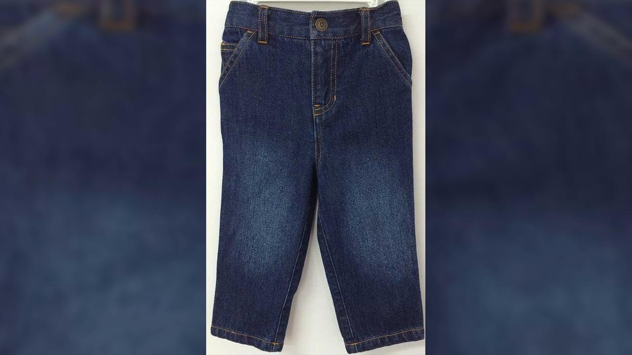 Golden Horse Nursery Rhyme Play 5-pocket, 100 percent denim pants