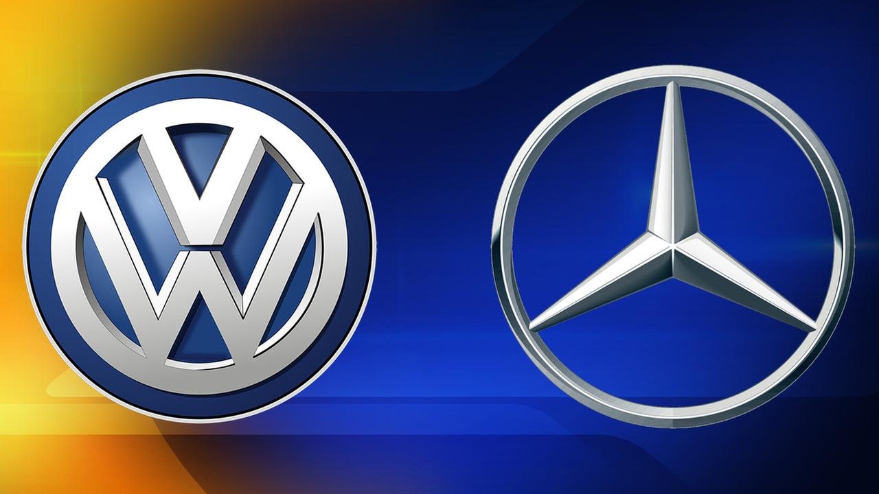 VW, Mercedes announce recalls for more than 200,000 cars, SUVs
