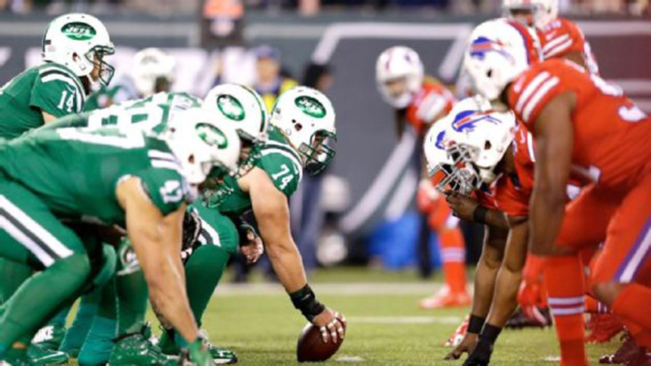 The colors of the Jets and Bills Color Rush jerseys proved to be a problem for fans who are colorblind.