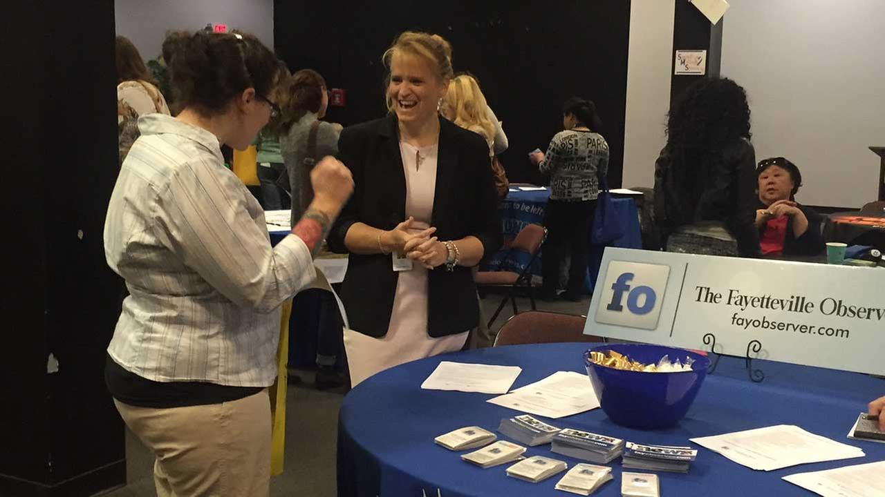 Military spouses job fair in Fayetteville