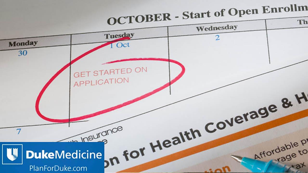 Know which insurance plans on healthcare.gov include Duke Medicine