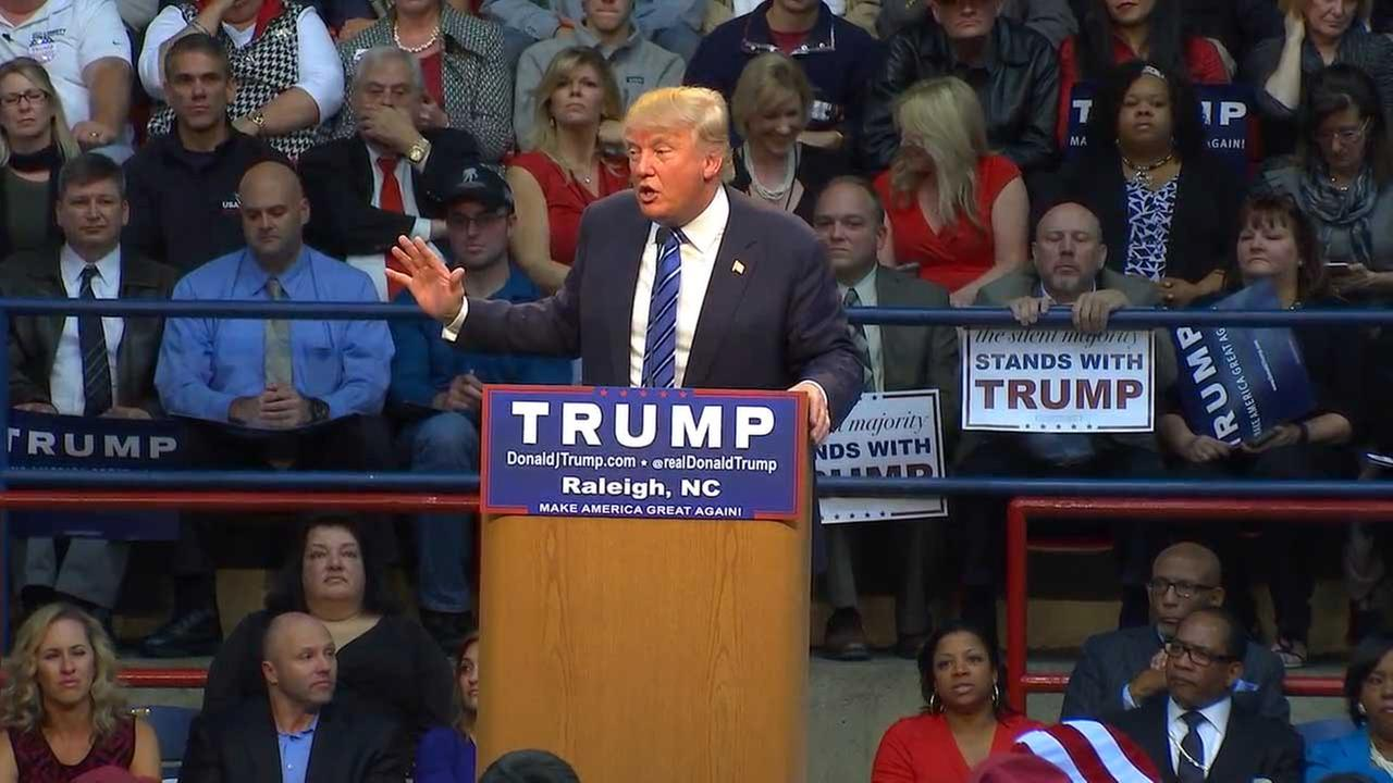 Donald Trump in Raleigh