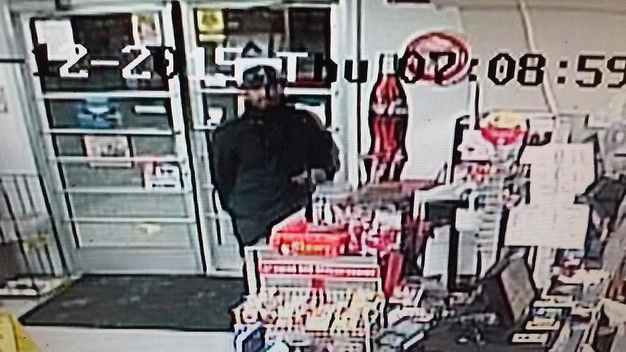 Clayton Police need your help to identify an armed robber who entered the Howards Mini Mart on Barber Mill Road on Nov. 12.