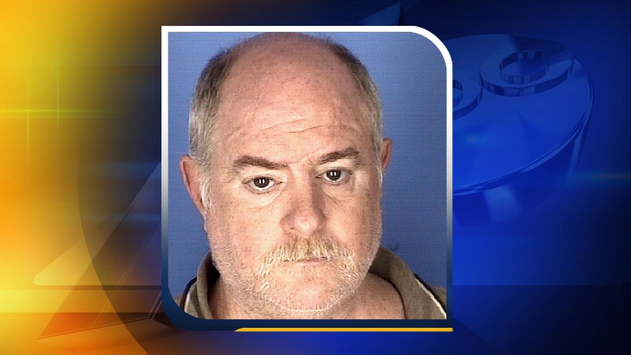 Scott Gary Gibson, 57, was arrested and charged with assault with a deadly weapon Inflicting serious injury .