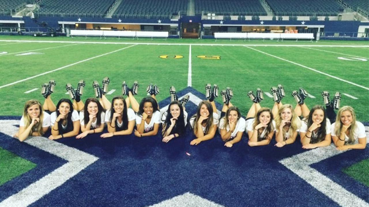 The N.C. State dance team performed at the Dallas halftime show Saturday Dec. 19, 2015