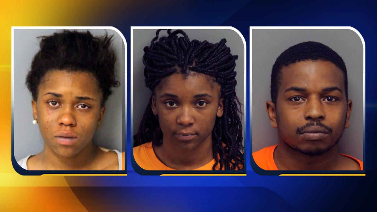 23-year-old Jasmine Edgerton, 21-year-old Jahbria Edgerton, and 26-year-old Earl Quiller