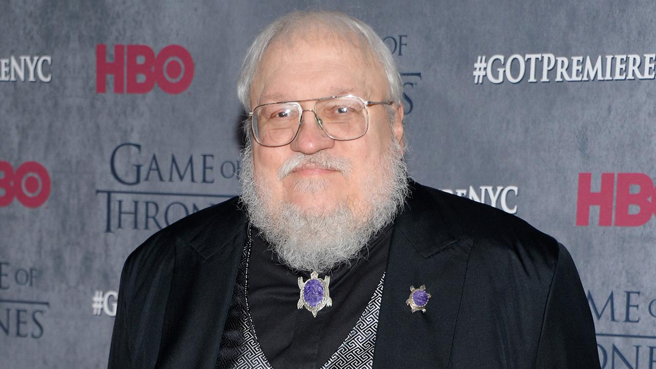 In this March 18, 2014 file photo, author and co-executive producer George R. R. Martin attends HBOs Game of Thrones fourth season premiere in New York.