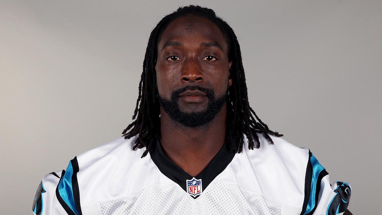 This is a 2015 photo of Charles Tillman of the Carolina Panthers NFL football team.