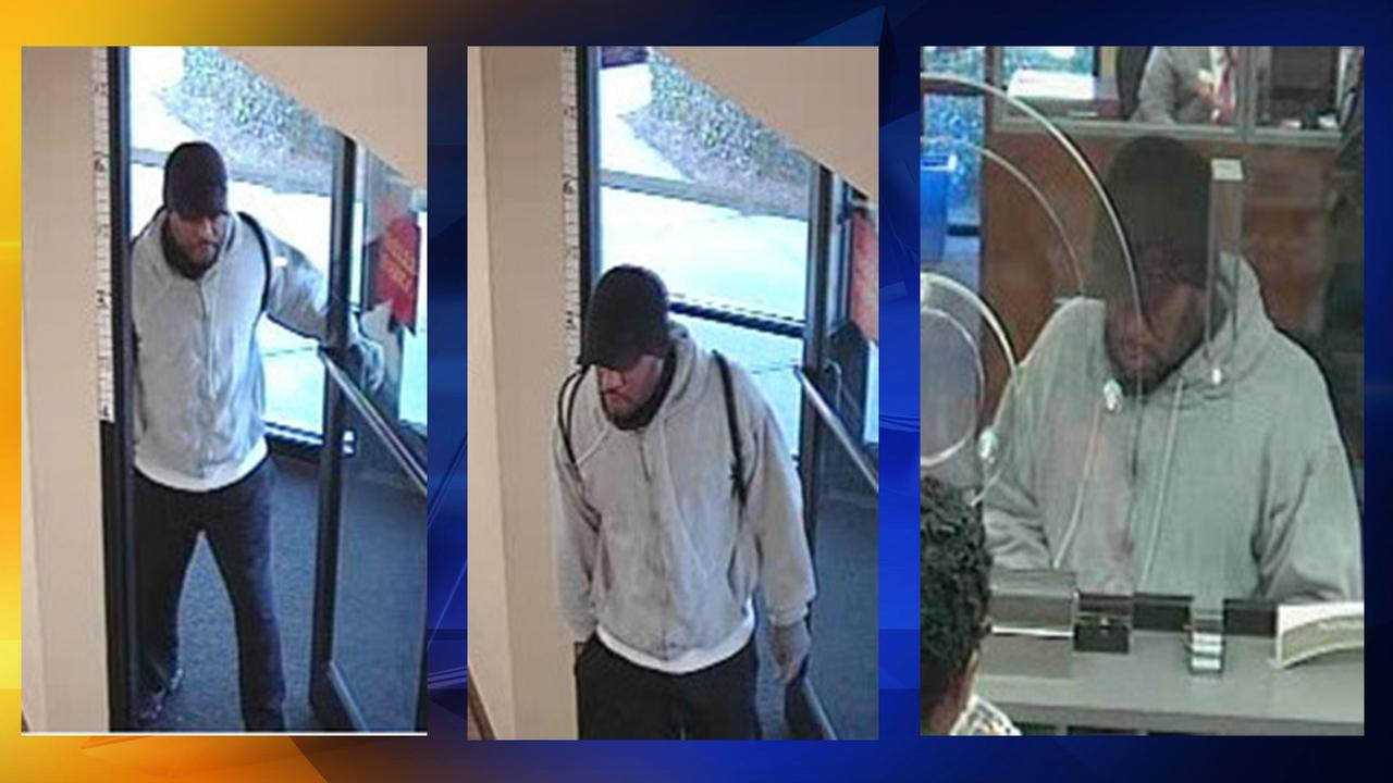 Surveillance photos from the Wells Fargo Bank on Raeford Road