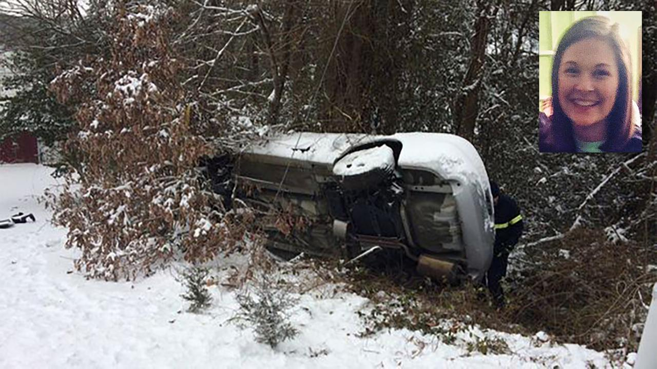 Madeline Scalf, 19, died in the accident near Hickory.