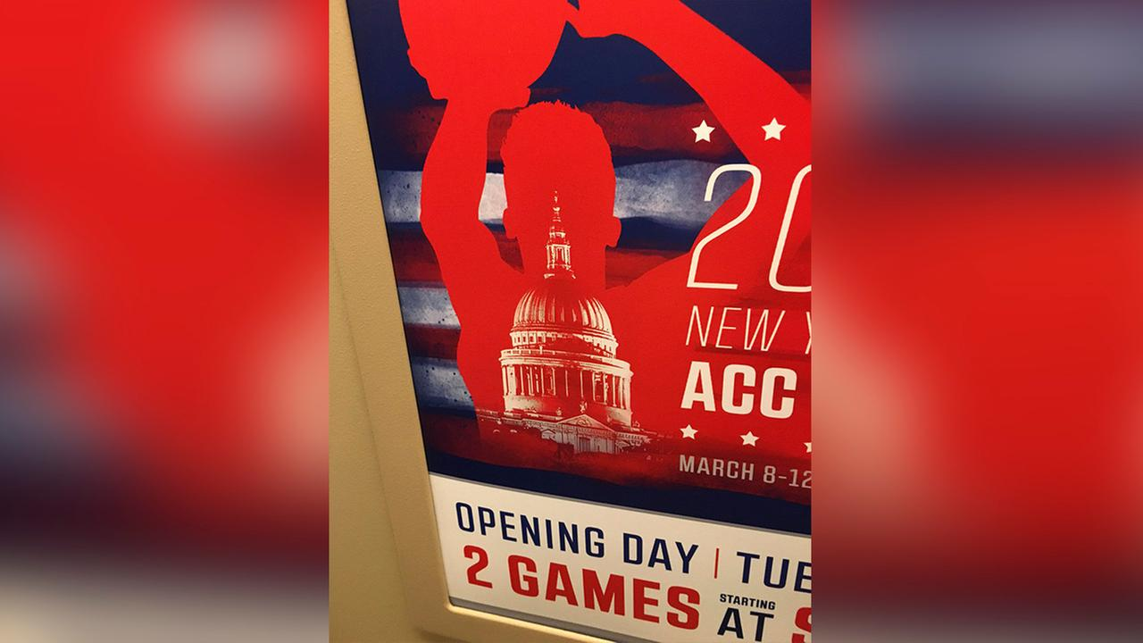 ACC puts wrong building on Washington, D.C. tournament ad