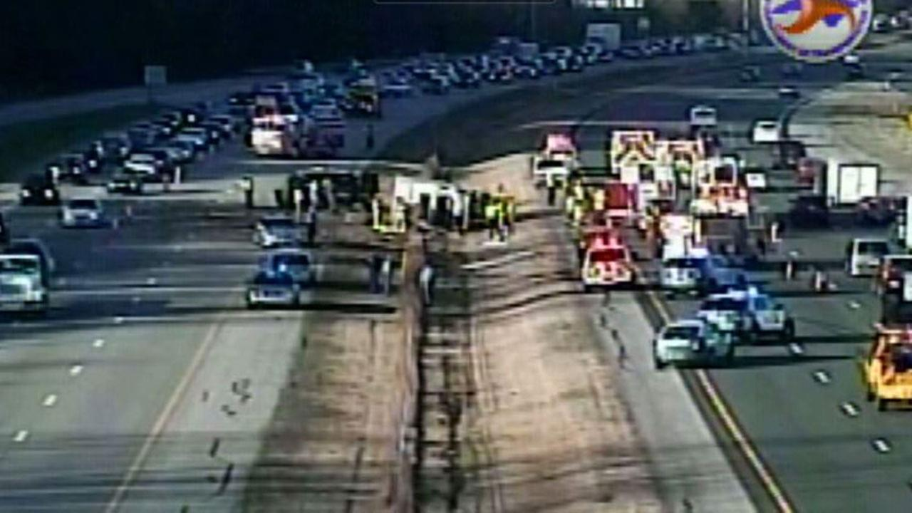 Accident impacting I-540 near Lumley Road in Raleigh