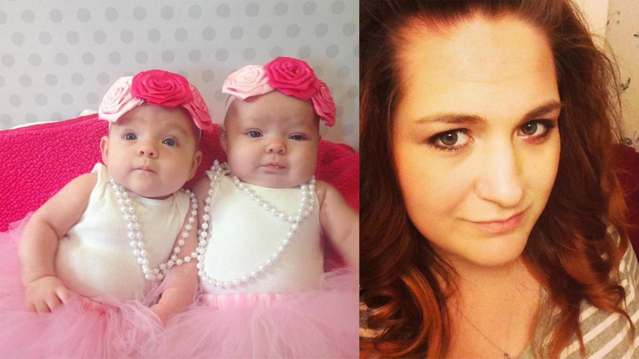Left: Sofia and Riley Lanfair, Right: Heather Lanfair