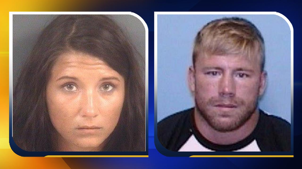 Jeanie Ditty (left) Zachary Keefer (right)