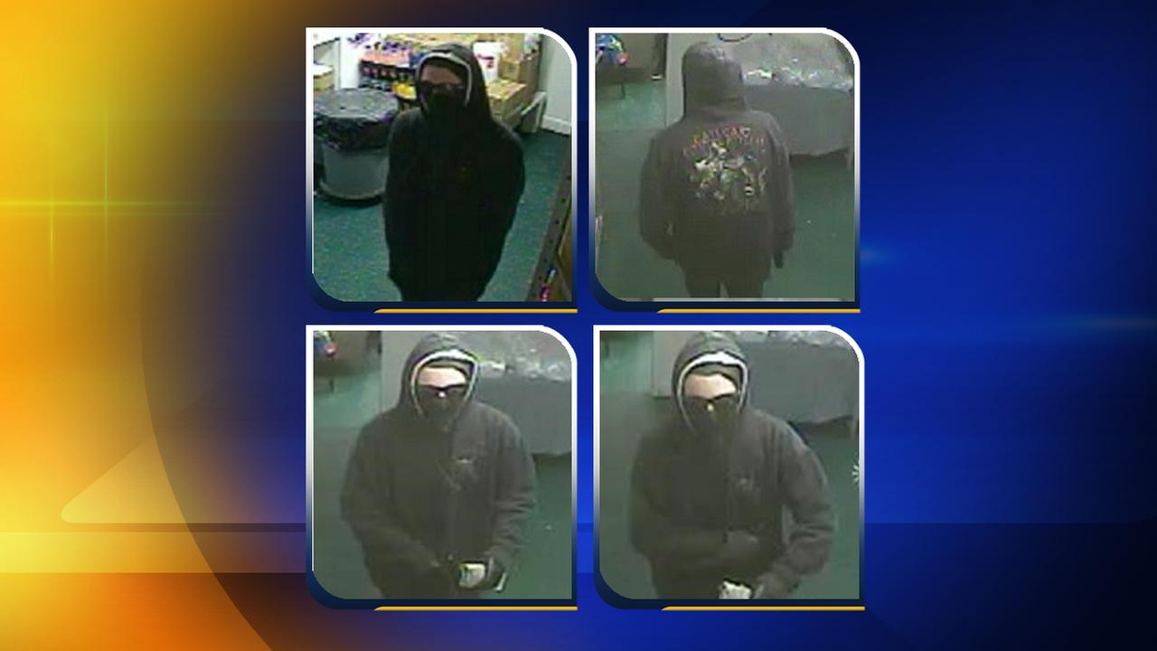 Fayetteville police are searching for a suspect in an armed robbery at the Bar-B-Que Hut on Fort Bragg Road
