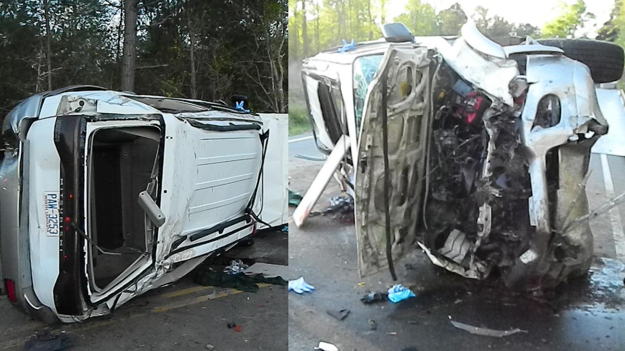 Two seriously injured after rollover wreck in Pinebluff