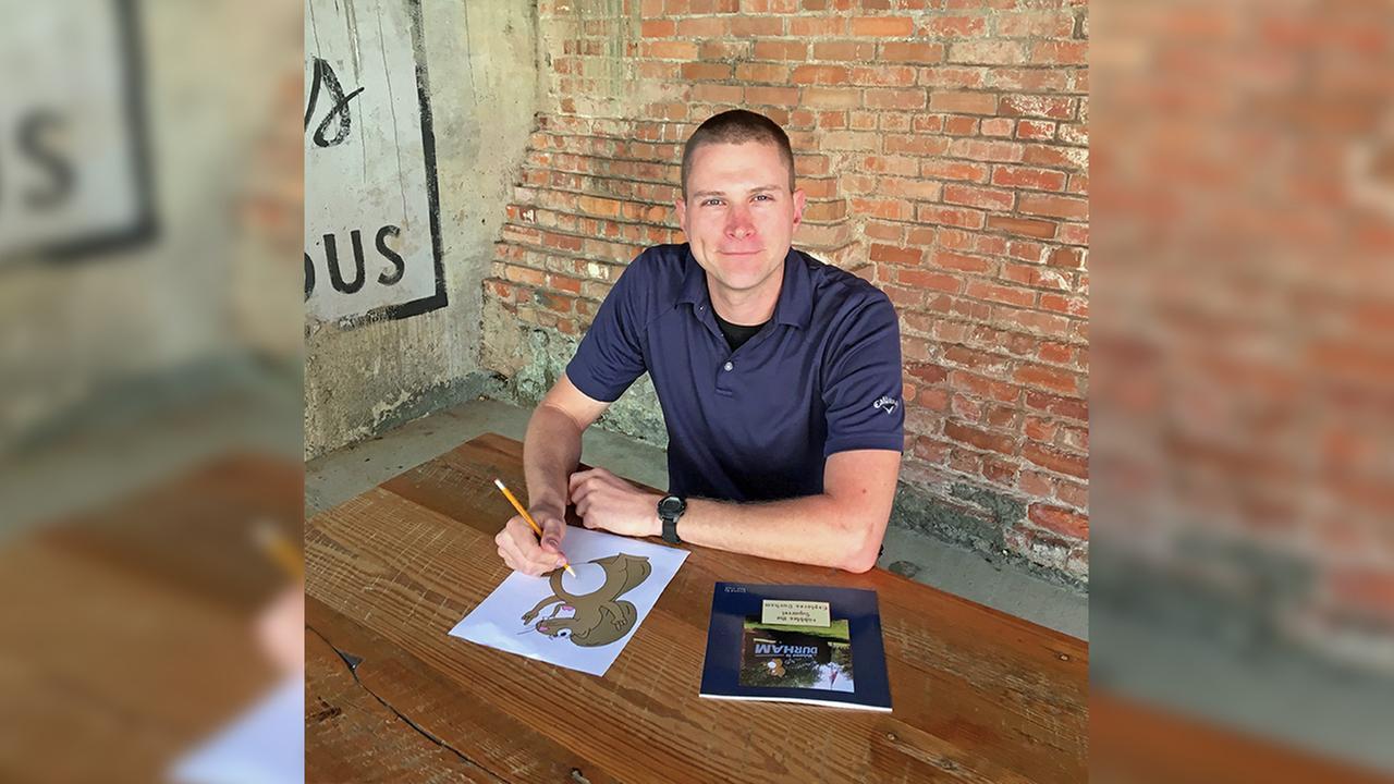 Durham Police Corporal Paul Clark writes childrens book