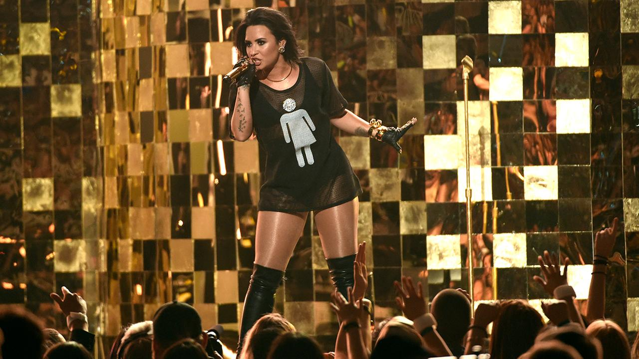 Demi Lovato performs Cool For The Summer at the Billboard Music Awards at the T-Mobile Arena on Sunday, May 22, 2016, in Las Vegas.