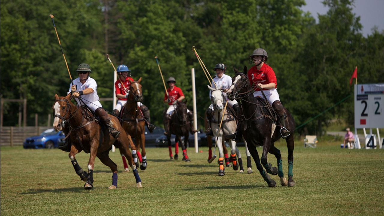 Triangle Charity Polo Classic held in Hurdle Mills