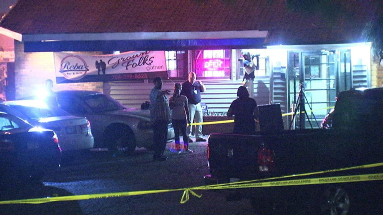 Five people injured in overnight shooting at west Charlotte bar, Saturday, June 26, 2016.