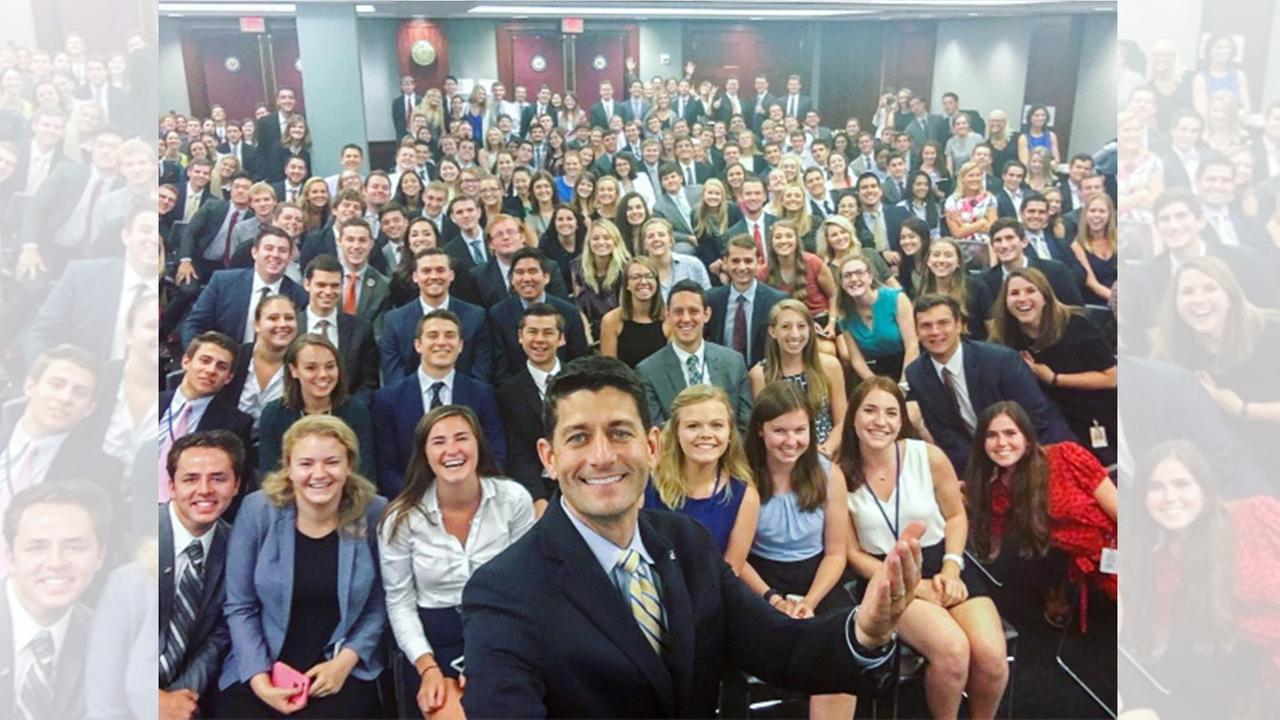 Photo of Capitol Hill interns