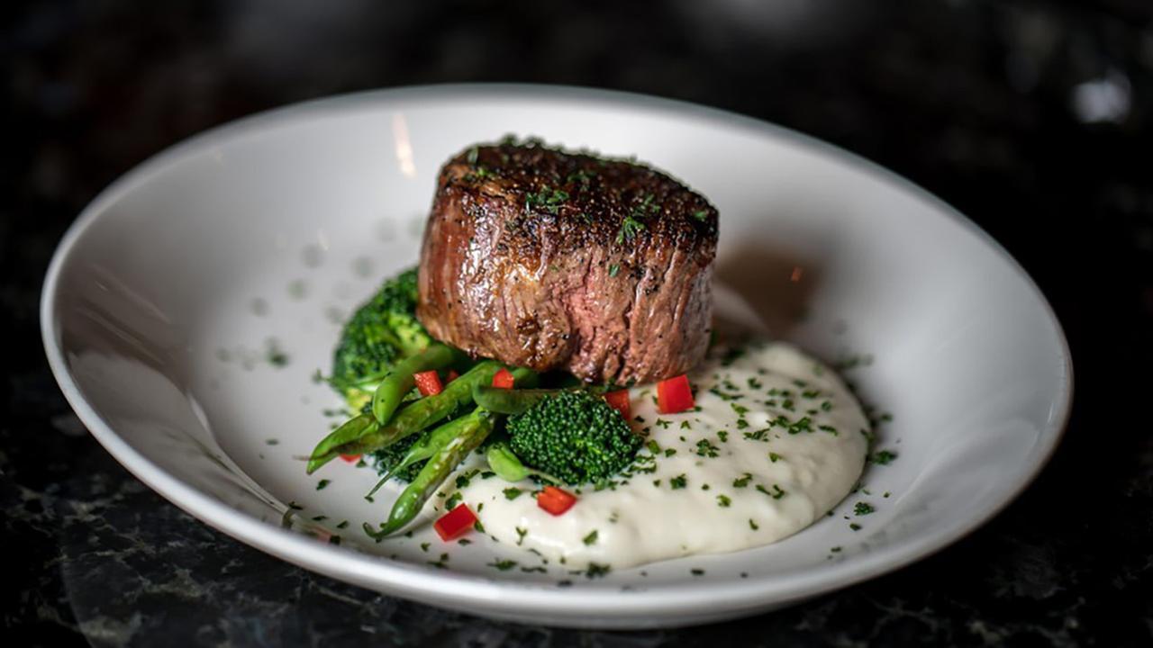 Steak dinner from Sullivans
