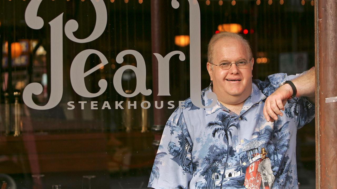 Lou Pearlman is shown at his restaurant at Church Street Station in Orlando, Fla., on Oct. 27, 2006.