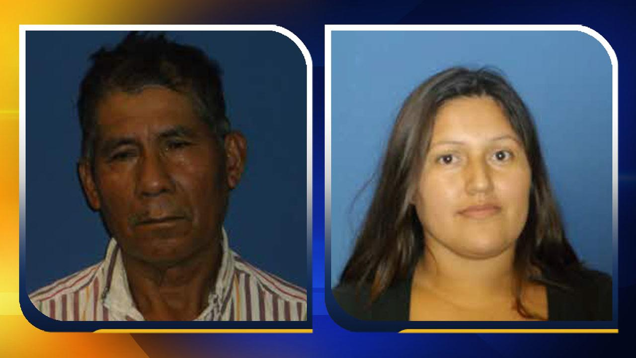 Fransisco Lopez, 56, and Claudia Rendon, 28