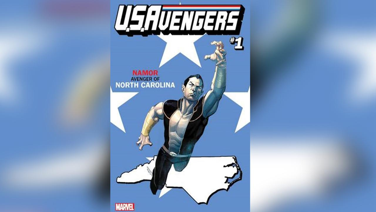 Namor - Avenger of North Carolina