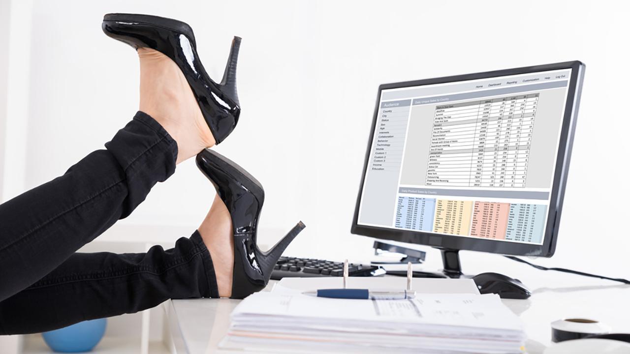 Stock photo of high heels