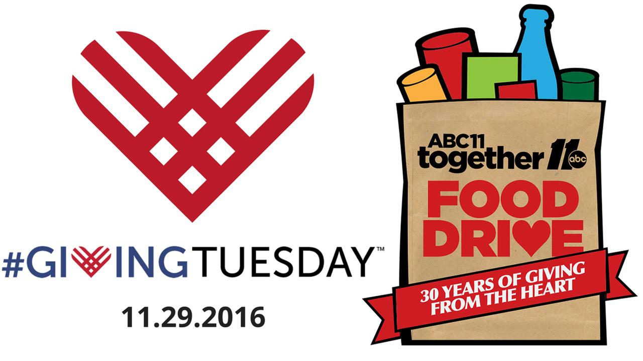 Giving Tuesday: ABC11 Together Food Drive