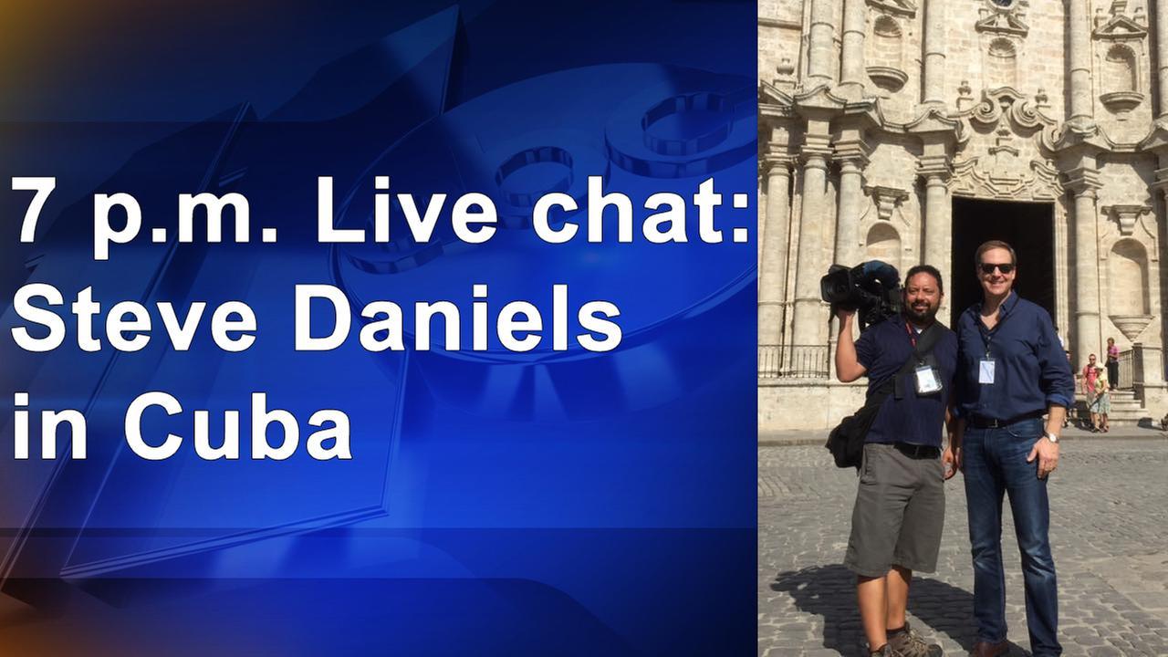 Reporter's notebook Q&A: Steve Daniels in Cuba