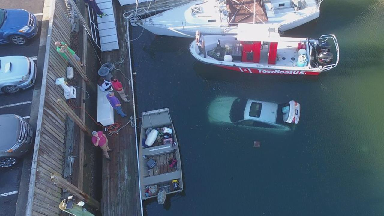 89-year-old man drives brand new BMW into water at Wrightsville Beach marina