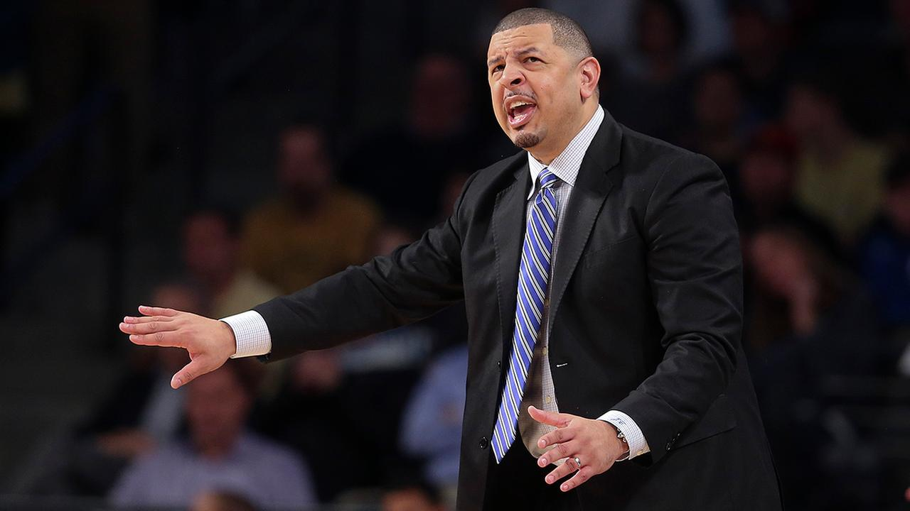 Duke associate head coach Jeff Capel