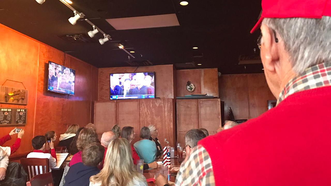 Inauguration Day watch party in Cary