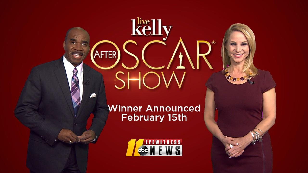 "ABC11's ""Kelly's LIVE After Oscars Show"" Sweepstakes"