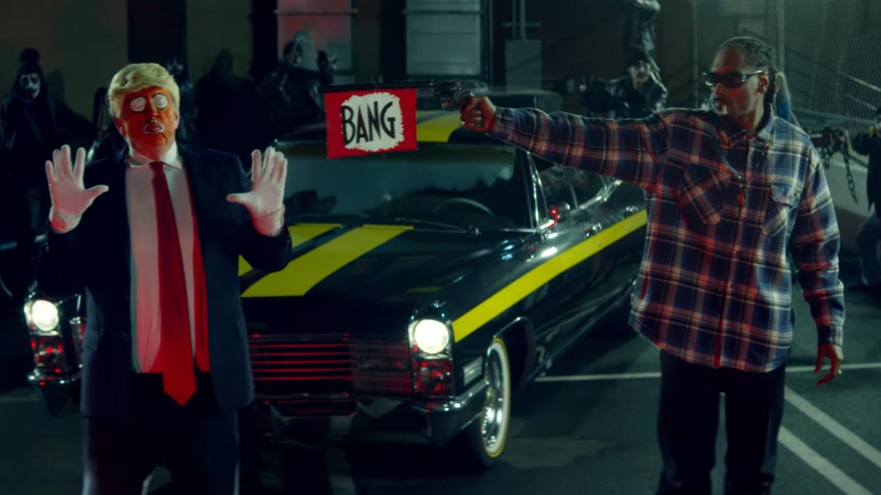 Pres. Trump tweets at Snoop Dogg after music video