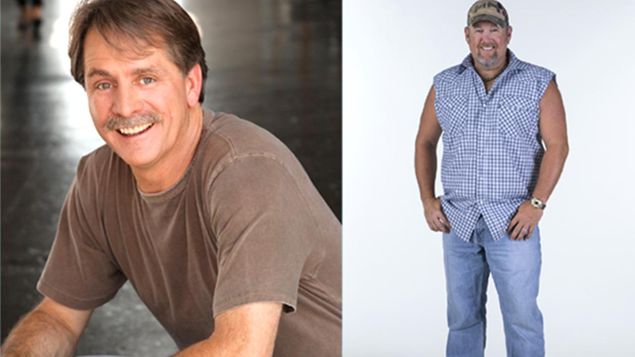 Jeff Foxworthy and Larry the Cable Guy come to Cary