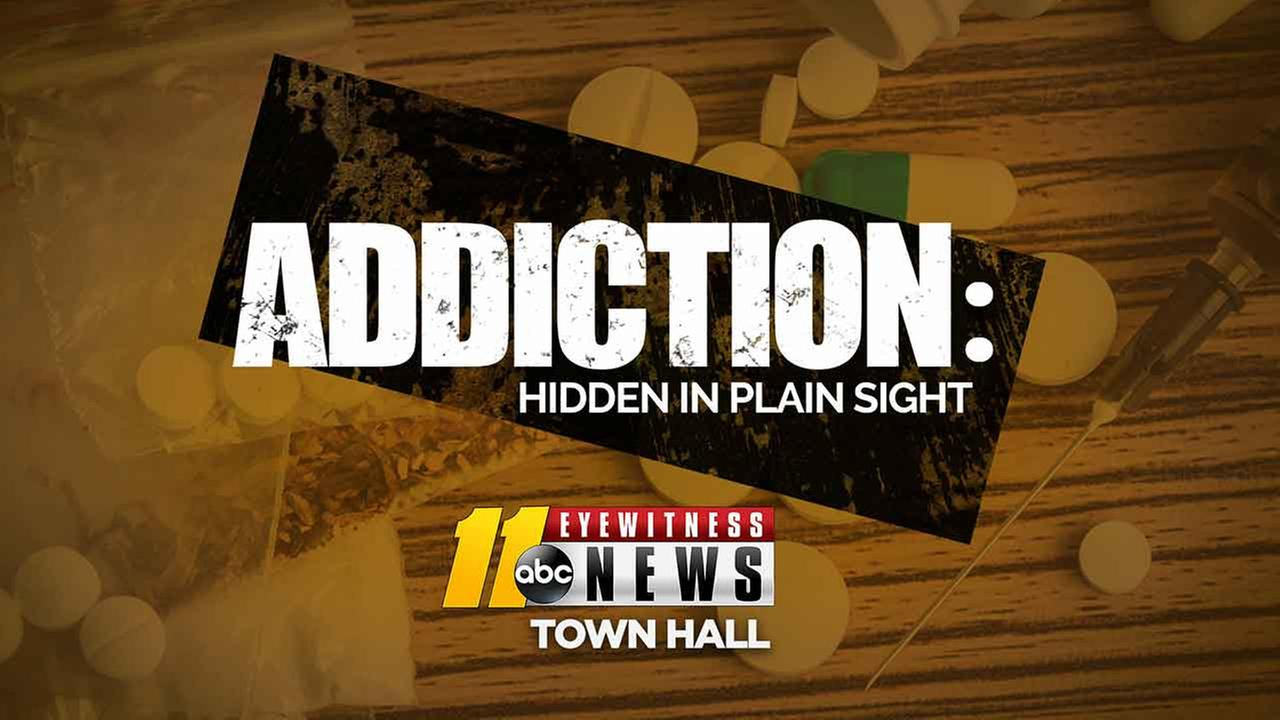 "ABC11's town hall on ""Addiction: Hidden in plain sight"" participants"
