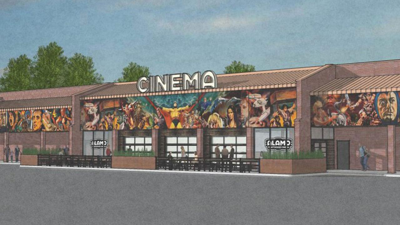 Rendering of Alamo Drafthouse Raleigh